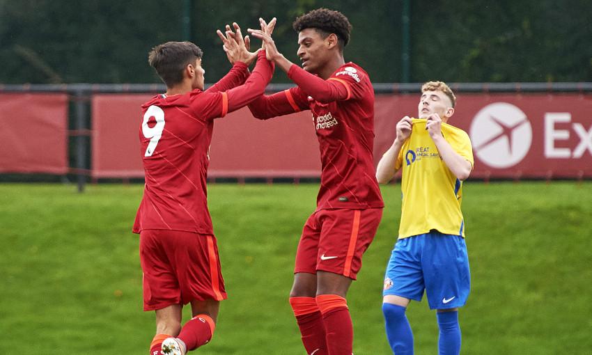 Liverpool U18s v Sunderland - 2/10/2021