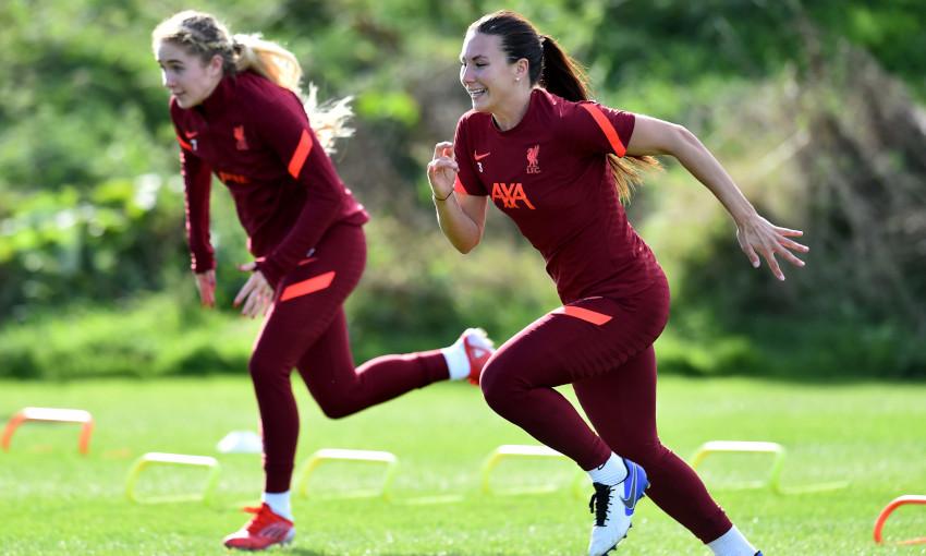 Liverpool FC Women training session - 6/10/2021