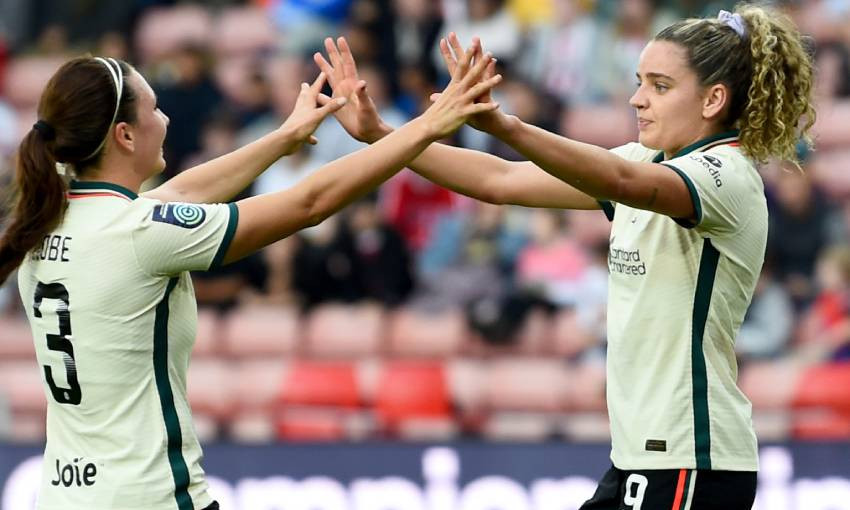 Match report: Liverpool FC Women go top after win at Sheffield United