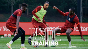 Inside Training: Rondos and attacking drills on Tuesday