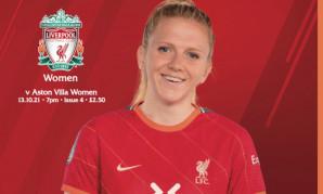 Get your LFC Women v Aston Villa programme tonight