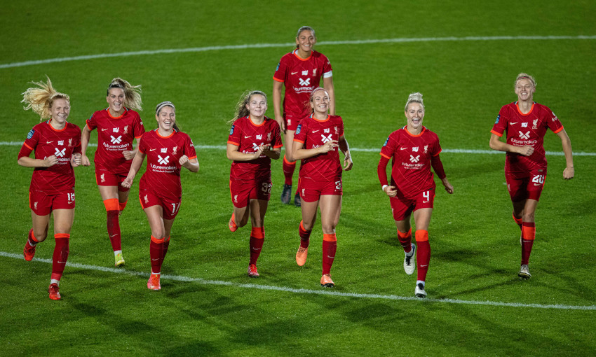 Liverpool FC Women v Aston Villa - 13/10/2021