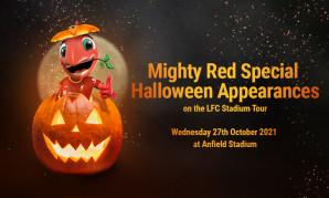 Meet Mighty Red on LFC Stadium Tour Halloween appearances