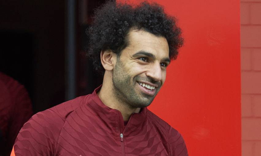 Mohamed Salah: I'm trying my best to help the team win trophies - Liverpool FC