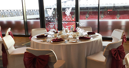 MEETINGS & EVENTS AT ANFIELD