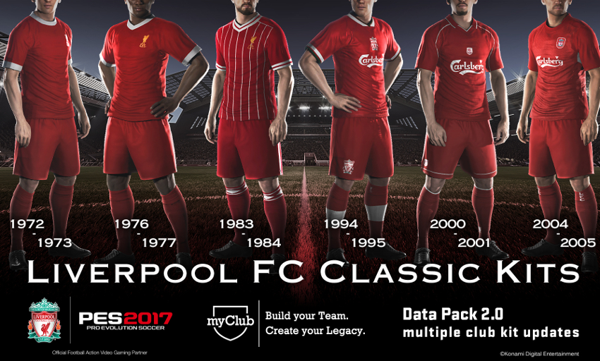 Free download: Add Anfield and LFC kits to PES 2017 - Liverpool FC