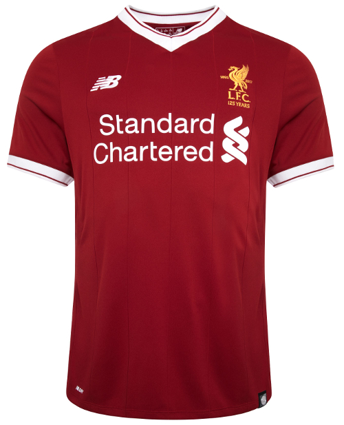 bdba424c4b6 Revealed  LFC s 125th anniversary home kit for 2017-18 - Liverpool FC