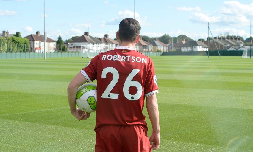 Maillot Extérieur Liverpool Andrew Robertson