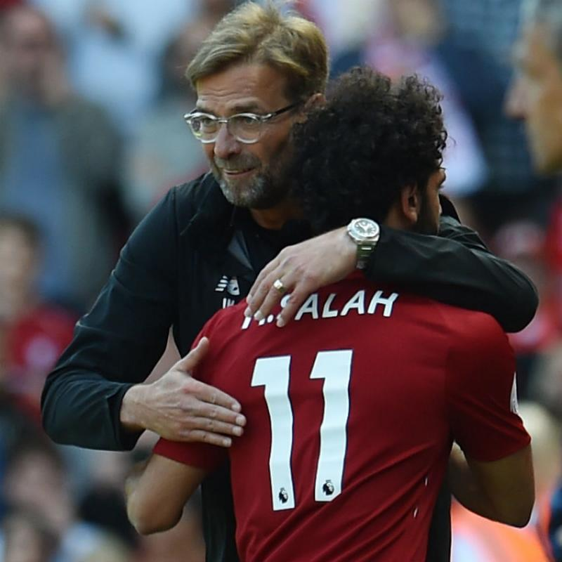 Egypt's Mohamed Salah dribbles for first time since injuring shoulder