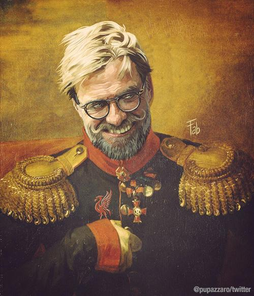 Jürgen Klopp as part of Fabrizio Birimbelli's 'Like the Gods' project