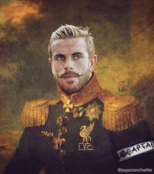 Jordan Henderson as part of Fabrizio Birimbelli's 'Like the Gods' project