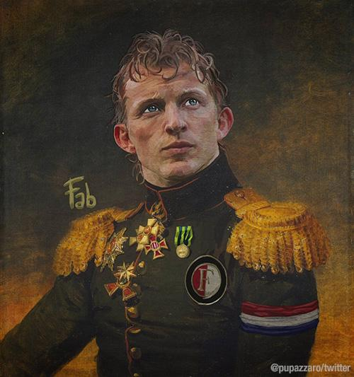 Dirk Kuyt as part of Fabrizio Birimbelli's 'Like the Gods' project