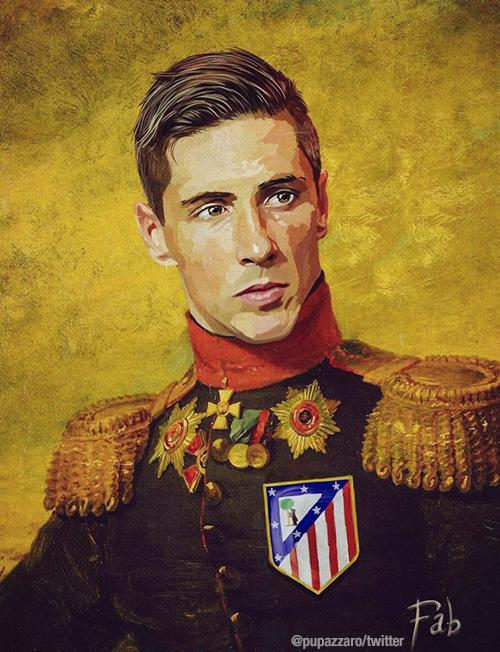 Fernando Torres as part of Fabrizio Birimbelli's 'Like the Gods' project