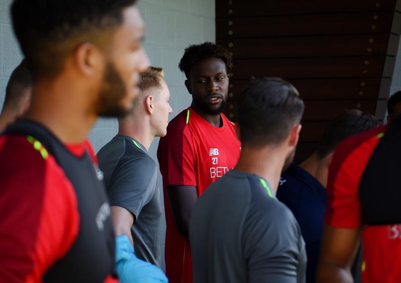 Divock Origi: 'I feel more mature on return to Liverpool'