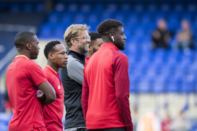 Liverpool boss Klopp pleased with Ojo, Camacho for win at Tranmere