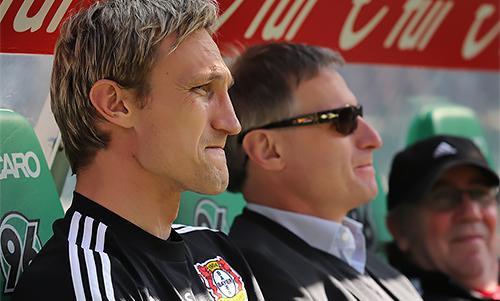 Former Liverpool defender Sami Hyypia as Bayer Leverkusen manager.