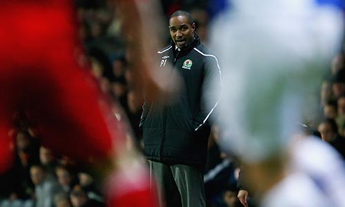 Former Liverpool captain Paul Ince looks on during his time as Blackburn Rovers manager.