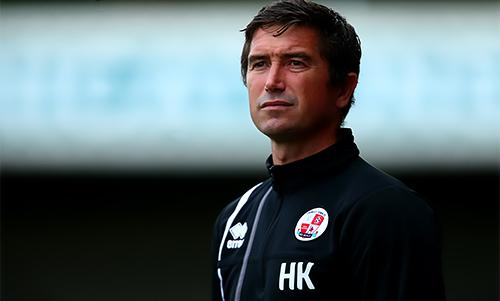 Former Liverpool winger Harry Kewell is the manager of Crawley Town.