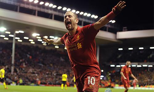 Liverpool No.10 Joe Cole served under three different managers at Anfield.